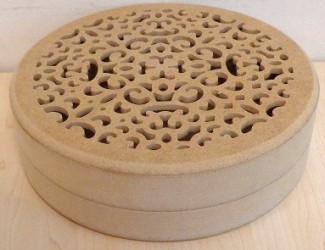 Box from MDF (19 cm)