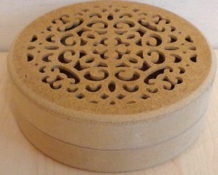 Box from MDF (15,5 cm)