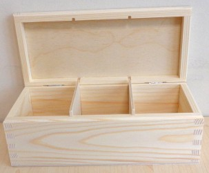 Tea box (3 dividers)