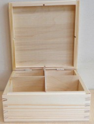 Tea box (4 dividers)
