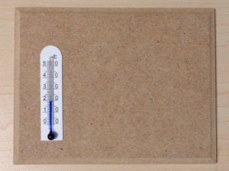 Termometras ant MDF