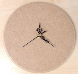 Clock from MDF
