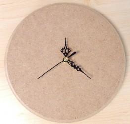 Laikrodis iš MDF