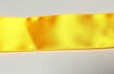 Satin ribbon bright orange (1 m)