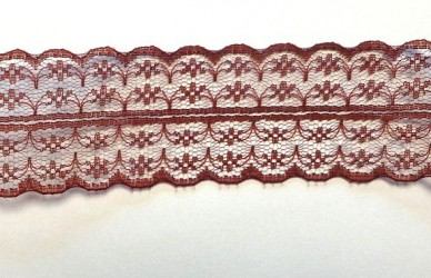 Lace trim Brown (1 m)
