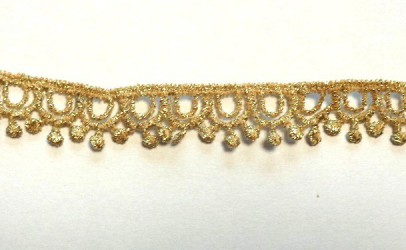 Lace trim Gold (1 m)