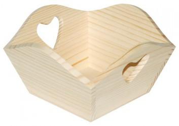 Padėklas su širdele (kvadratinis)