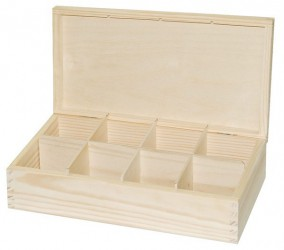 Tea box (8 dividers)