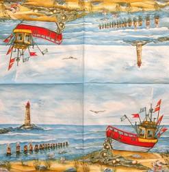 Napkin Boat