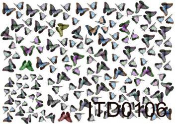 Decoupage paper Butterflies