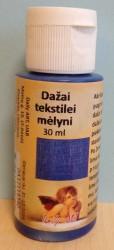 Dažai tekstilei Mėlyni (30 ml)
