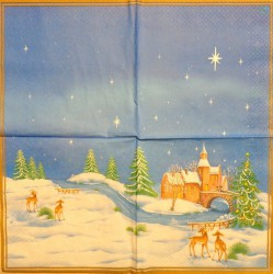Servetėlė Žiema