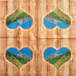 Napkin Heart