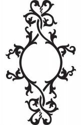 Stencil - ornament