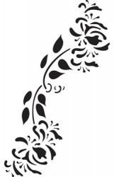 Stencil - flower