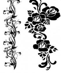 Antspaudas - gėlės