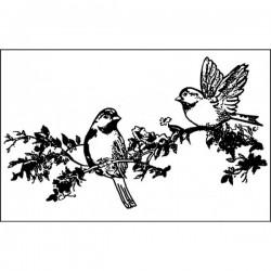 Stamp - birds
