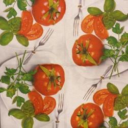 Servetėlė pomidorai