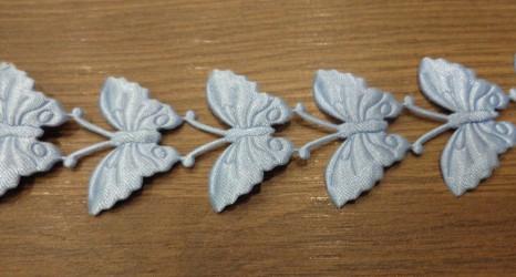 Stripe Butterflies Blue (20 cm)