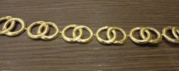 Juostelė Žiedai Auksiniai (20 cm)