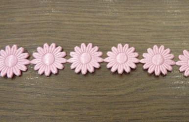 Juostelė rožinės gėlės (20 cm)