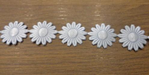 Juostelė Mėlynos Gėlės (20 cm)