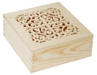 Dėžutė (ažūrinis viršus)