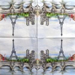Servetėlė Paryžius