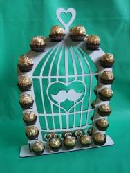 Narvelis su saldainiais