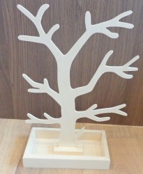 Medis papuošalams (3 mm storio) su indėliu