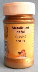 Metalizuoti dažai Auksas (100 ml)