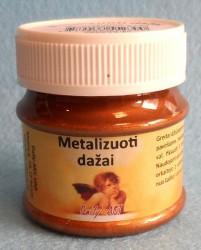 Metalizuoti dažai Antikinis Auksas (50 ml)