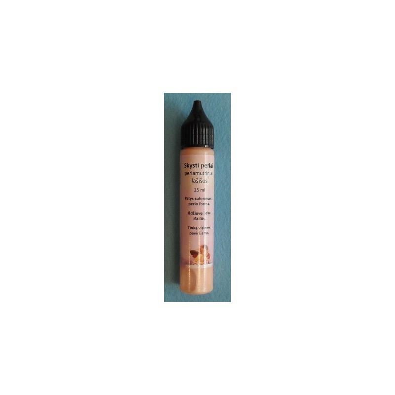 Skysti perlai perlamutriniai Lašišos (25 ml)
