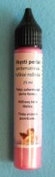 Skysti perlai perlamutriniai Ryškiai rožinė (25 ml)