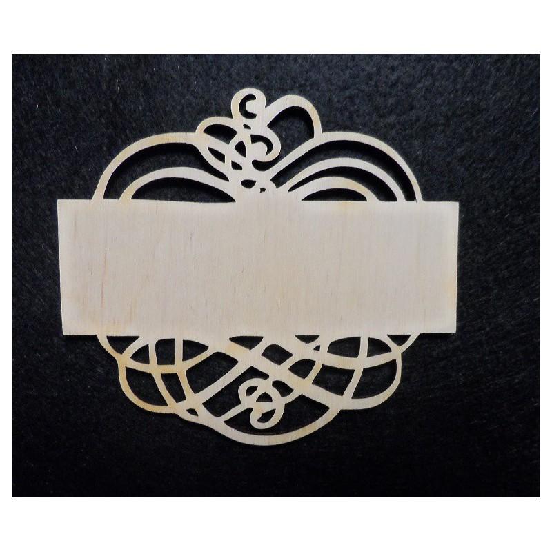 Lentelė su ornamentu (vidutinė)