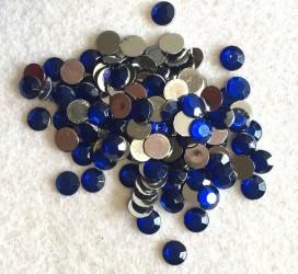 Akrilinės akutės - mėlynos (6 mm, apie 120 vnt)