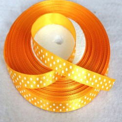 Satin ribbon Orange (1 m)