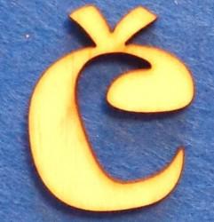 Letter Č