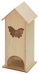 Tea box with butterfly