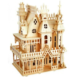 3D puzzle - castle