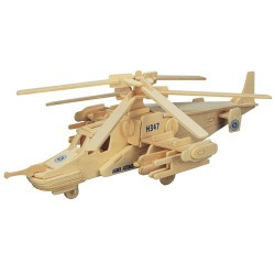 3D puzzle - helicopter