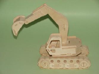 3D dėlionė - kastuvas