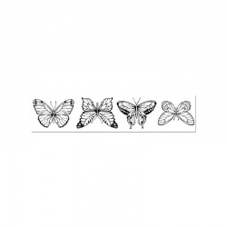 Stamp butterflies