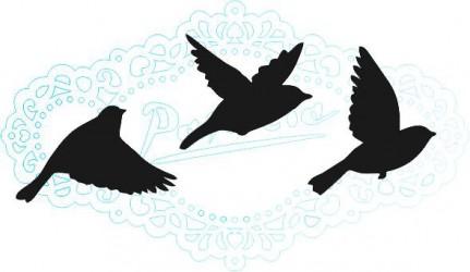 Stamp birds