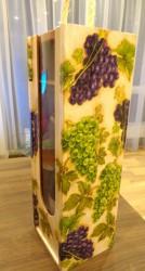 Medinė vyno dėžė