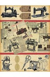 Ryžinis popierius (Siuvimo mašinos)