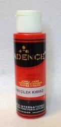 Matiniai akriliniai dažai spalva Braškių (70 ml)