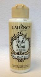 Matiniai akriliniai dažai spalva Balta (120 ml)