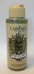 Matiniai akriliniai dažai spalva Kareivių žalia (120 ml)