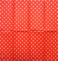 Napkin Dots Red